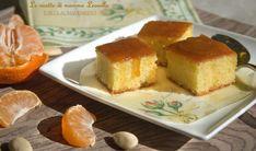 TORTA AL MANDARINO -ricetta dolce da forno - Le ricette di mamma Leonilla