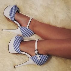 'Minnie' T-Strap Peep-Toe Pumps #platformpumpswedges