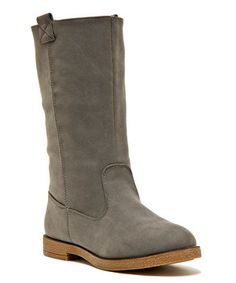 Another great find on #zulily! Qupid Gray Smack Boot by Qupid #zulilyfinds