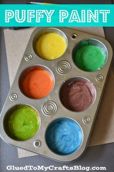 Puffy Paint {Kid Craft}