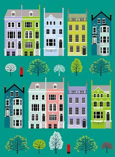 brownstones art - Google Search