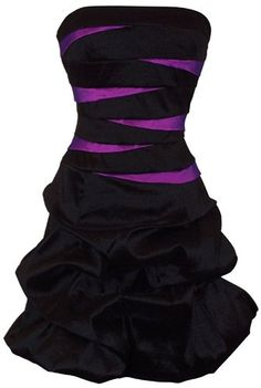 So Cute...   Amazon.com: Strapless Bandage Mini Bubble Dress Prom Party Formal Gown: Clothing