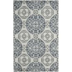 @Overstock - The deco rugs were made with museum inspired designs and handcrafted using the highest quality material available.http://www.overstock.com/Home-Garden/Handmade-Chatham-Treasures-Silver-New-Zealand-Wool-Rug-8-x-10/6562512/product.html?CID=214117 $522.99
