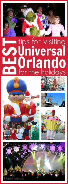 Best Tips for Visiting Universal Orlando for the Holidays | 2016 Holiday Celebration at Universal Orlando Resort - best family tips for the season (AD) Raising Whasians