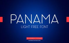 panama-free-font-662x414.jpg (662×414)