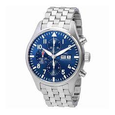 IWC Pilot Le Petit Prince Automatic Chronograph Mens Watch