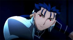 Fate Zero, Gifs, Comic Character, Character Concept, Arturia Pendragon, Dead Dog, Fate Stay Night Anime, Fate Characters, Night Gif