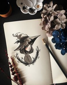 """Saskia W. on Instagram: """"Inktober Day 1: """"Halloween Selfie"""" ・ Am I prepared for this? No! Am I gonna do it anyways? Yes! ・ If I could be any usual Halloween…"""" Halloween Illustration, Halloween Themes, Inktober, Illustrators, Whimsical, Challenges, Selfie, Day, Instagram"""