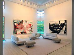 Albert Oehlen Franz Kline Artist PaintingsMarguerite HoffmanHouse Art Collection DallasTexas