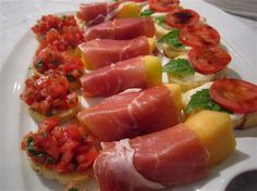 Christmas Holiday Appetizers Recipes | Prosciutto & Burrata Appetizer Recipe & Holiday Recipe Ideas | Follow ...