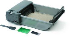 Our Pets 1073211347 Deluxe Smartscoop Self-Scooping Litter Box