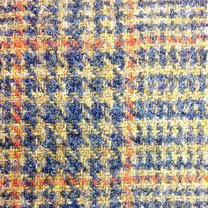 Harris Tweed detail - love the colours