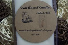 Malted Milk by ScentAppealCandles on Etsy, $3.00