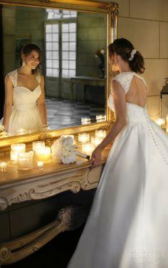 Stella York 2014- 5902  SATIN BALLGOWN  THE BRIDAL BOUTIQUE BY MAEME 3331 SEVERN AVENUE, METAIRIE, LOUISIANA 70002 504.266.2771 #MAEMEBRIDAL #WEDDINGGOWN WWW.MAE-ME.COM