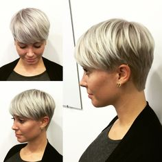 15 Super Pixie-Haarschnitte für feines Haar - Pixie Haircut for Fine Hair - Bob Hairstyles For Fine Hair, Short Hairstyles For Women, Cool Hairstyles, Fashion Hairstyles, Black Hairstyles, Short Hair Cuts, Short Hair Styles, Pixie Cuts, Short Fine Hair