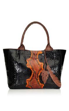 Nancy Gonzalez tote via Moda Operandi Cute Handbags, Best Handbags, Purses And Handbags, Fashion Handbags, Nancy Gonzalez, Big Bags, Beautiful Bags, Women's Accessories, Tote Bag