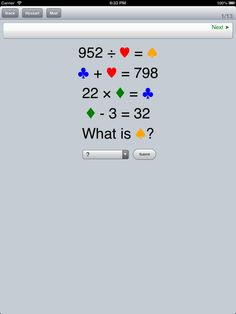 iLiveMath4 for 4th grade math - unlimited combinations - coming soon to join iLiveMath1, 2, and 3.