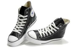 Lowest Price Converse Chuck Taylor All Star High Top Black Ox Leather
