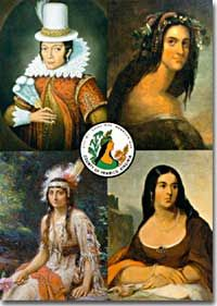 Chief Wahunsonacock | Pocahontas was the daughter of Chief Powhatan and wife of Jamestown ...