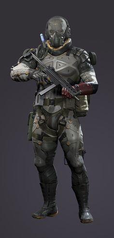 ArtStation - Metal Gear Solid V: The Phantom Pain - Snake Parasite Suit, mike fudge
