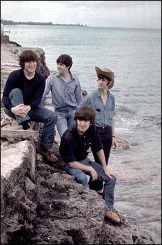 The The Beatles (Paul McCartney , Ringo Starr , John Lennon , George Harrison) Filming The Beatles Help, Beatles Love, Les Beatles, Beatles Art, George Beatles, Beatles Guitar, Beatles Poster, Ringo Starr, George Harrison