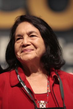 """Legendary civil rights activist and labor organizer #DoloresHuerta spoke to a packed room at #SonomaStateUniversity on Thursday, March 27, 2014, urging the crowd of about 1,000 to get involved and stand up for their rights.  """"We were not born to make other people rich,"""" said the 83-year-old Huerta, appearing at the H. Andrea Neves and Barton Evans Social Justice Lecture Series at the university. """"We were born to make the world a better place."""""""