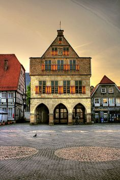 Rathaus of Werne, Germany