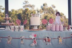 Belle and Boo themed birthday party by www.paperdollstyling.com.au