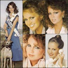 South Africa's Margaret Gardiner Miss Universe 1978 Miss World, South Africa, Queens, Universe, Celebs, Fashion, Celebrities, Moda, Fashion Styles