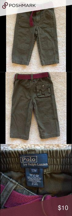 Baby boy Ralph Lauren pants. Baby boy Ralph Lauren pants lightly used. Good condition. Polo by Ralph Lauren Bottoms Casual