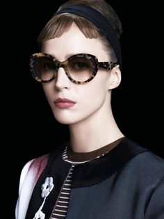45a22fc00e Raquel Zimmermann for Prada Eyewear by Sreven Meisel