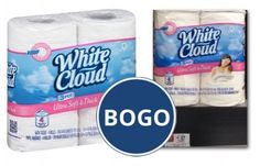 BOGO White Cloud Bath Tissue, Only $0.99 at Walmart!