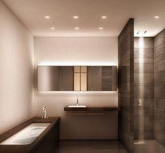 Badezimmer Beleuchtung Ideen Bilder #Badezimmer