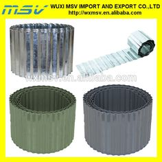 Galvanised Corrugated Metal Lawn Edging Roll 5M By 640 x 480