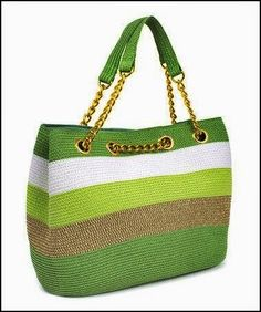 Trendy Ideas for knitting bag sewing crochet Crochet Shell Stitch, Bead Crochet, Crochet Baby, Crochet Handbags, Crochet Purses, Diy Sac, Bag Patterns To Sew, Sewing Patterns, Knitted Bags