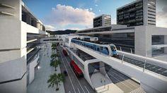 Pregopontocom Tudo: Em resposta a BRT lotado, Bogotá deve investir em Metrô elevado ... San Pablo, Opera House, Fair Grounds, Mansions, House Styles, Building, Travel, Carrera, Chile