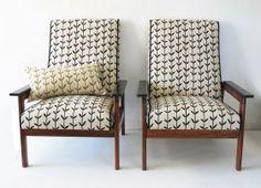 Love this scandinavian inspired fabric from Emily Ziz