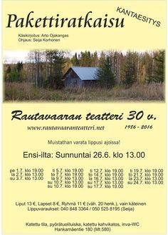 Rautavaaran Harrastajateatteri - Etusivu