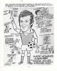 Harry Gilzean was the football cartoonist in the Edinburgh Evening News and every Monday on the back page he's report from either the Hibs or the Hearts match. He was my first cartoonist hero. Tags: ink work pat fine harry drawings celtic cartoons stanton career testimonial in hibs hibernian gilzean