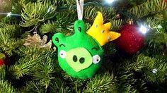 Angry Birds Homemade Ornament