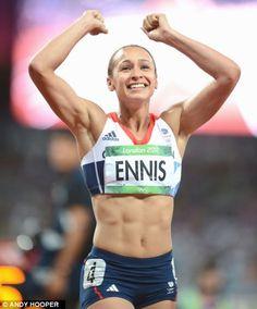 Athletes like Jess Ennis seen ...