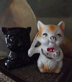 Vintage Kitty Cat Figurines