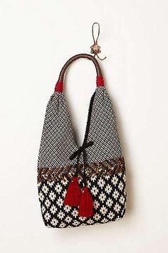 Anthropologie - Karina Hobo Fabric Bags f125de6de8962