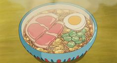 Ponyo, Ramen..Gosh, I love that animated food! VERY low cal! ;-)