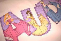 Personalized Disney Princess Pillowcase. via Etsy.