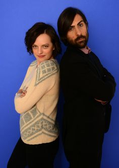 Jason Schwartzman Actors Elisabeth Moss and Jason Schwartzman pose for a portrait during the 2014 Sundance Film Festival at the Getty Images...
