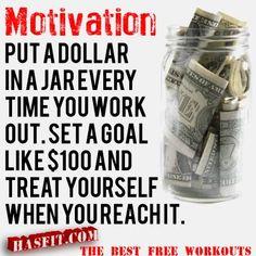 workout money jar
