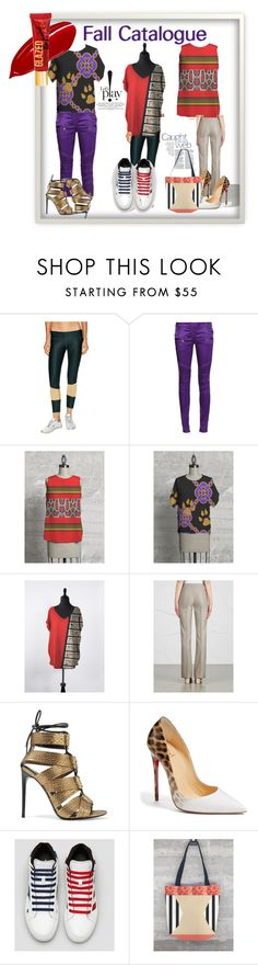 Catalog by funstyles-1 on Polyvore featuring Balmain, MaxMara, Stone Fox, Tom Ford, Funstyles and Christian Louboutin
