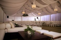 Wedding lights | Fairy lights | Some stunning marquee draping