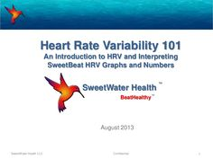 This is for users who use either SweetBeat or HRV Sense. We have had a lot of questions about age specific numbers and wanted to go into detail for our users s…